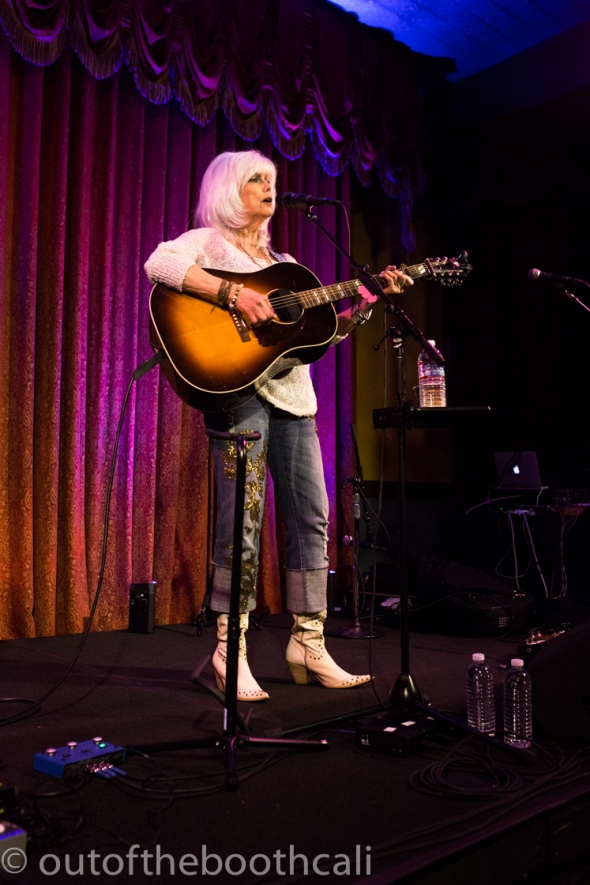 Emmylou Harris at The Bummer's Ball, by Ria Burman
