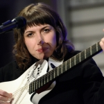Aldous Harding at Iceland Airwaves 2017, by Jon Bauer