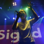 Sigrid at Iceland Airwaves 2017, by Jon Bauer