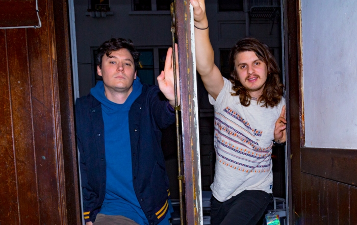Behind The Scenes: The Front Bottoms at the Regency