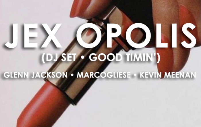 Push The Feeling turns six with Jex Opolis