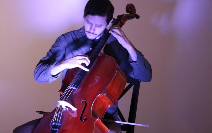 Joshua McClain shares his journey with the cello as his voice