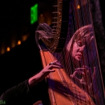 Mary Lattimore at the Swedish American Hall, by Joshua Huver