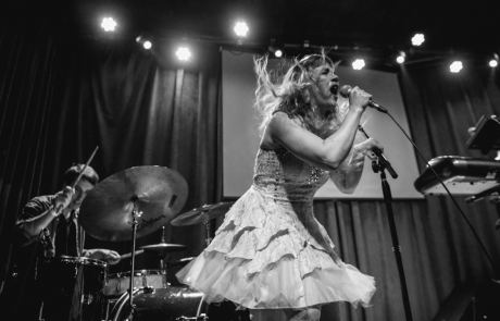Photos: Rachel Lark and the Damaged Goods at Brick & Mortar Music Hall