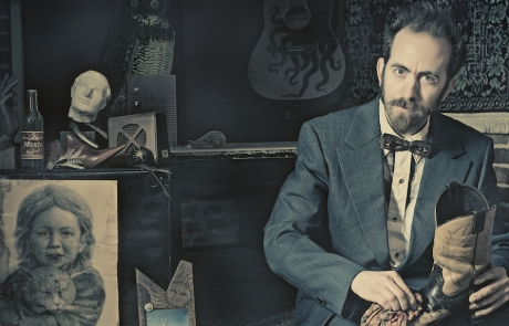 Folk singer-songwriter Dan Blakeslee treks west to the Lost Church