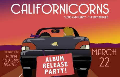 Californicorns release new album at Great American Music Hall next week