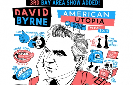 Sponsored: David Byrne promises new levels of amibition at Bill Graham
