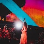 CHVRCHES at Not So Silent Night 2018, by Norm deVeyra