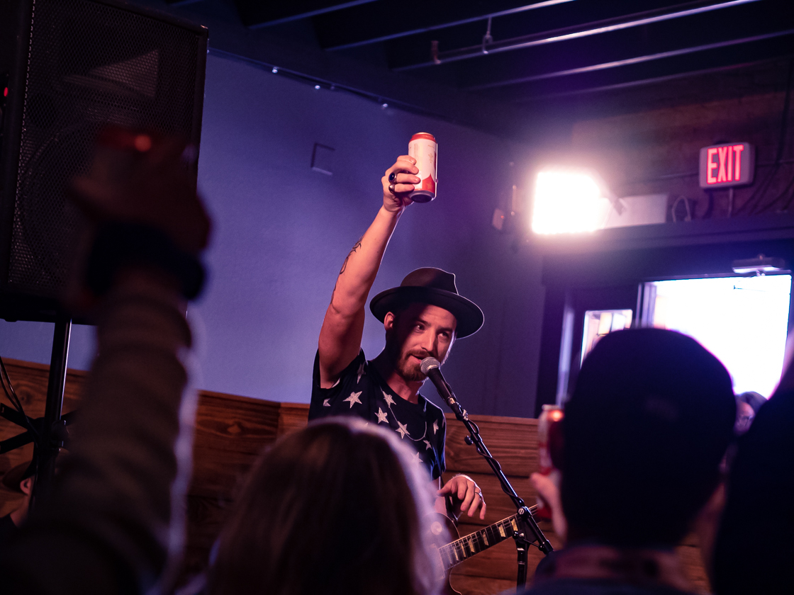 SXSW Day Three - Dave Cavelier by Norm deVeyra