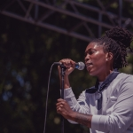 Ivy Sole at Sol Blume 2019 at Cesar Chavez Plaza, by Robert Alleyne