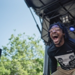 Dave B at Sol Blume 2019 at Cesar Chavez Plaza, by Robert Alleyne
