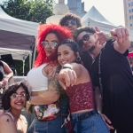 Crowd at Sol Blume 2019 at Cesar Chavez Plaza, by Robert Alleyne