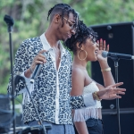 Masego at Sol Blume 2019 at Cesar Chavez Plaza, by Robert Alleyne