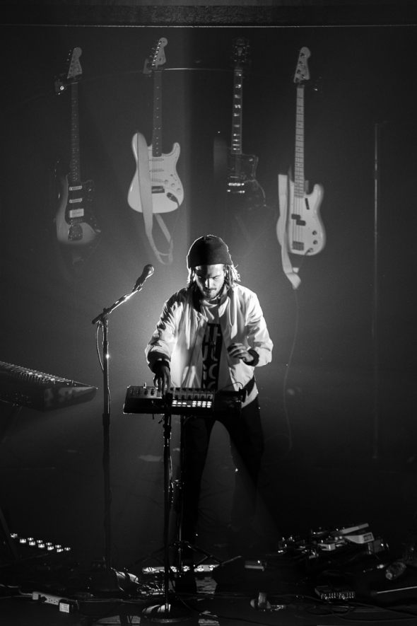 FKJ at The Warfield, by Cam Peters