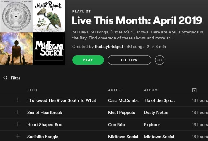 Live This Month: April