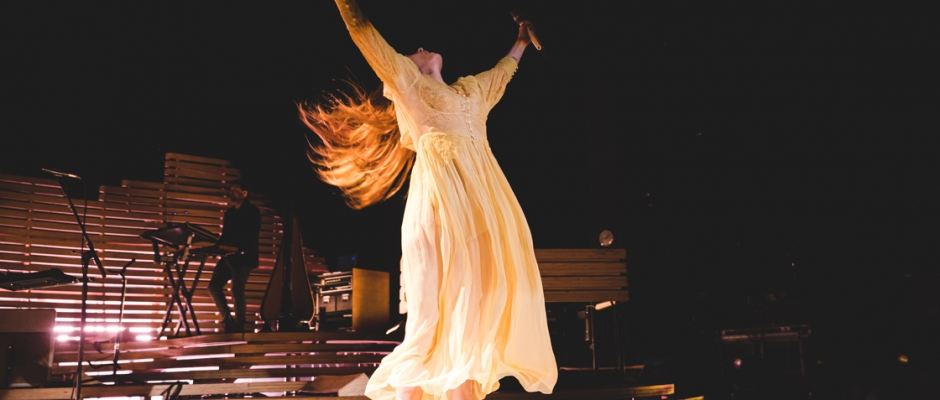 Review + Photos: Florence and the Machine + Christine and the Queens at Concord Pavilion