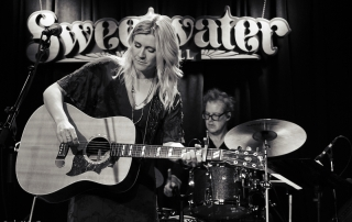 Victoria George and The High Lonesome at the Sweetwater Music Hall, by Carolyn McCoy