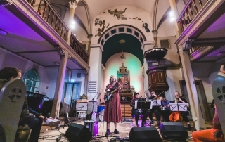Beyond Mountains at Iceland Airwaves 2019, by Ian Young