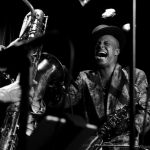 Angelo Moore at Sweetwater Music Hall, by William Wayland