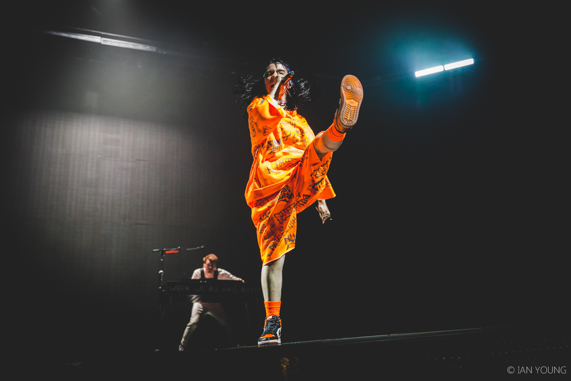 Billie Eilish at Bill Graham Civic Auditorium, by Ian Young
