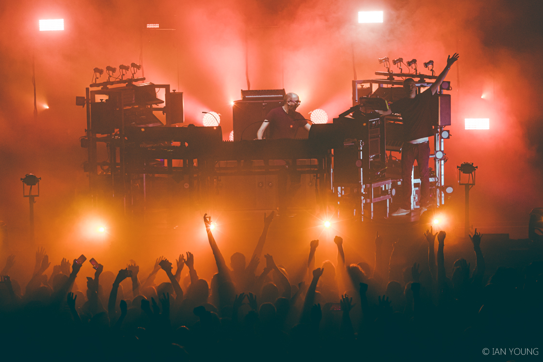 The Chemical Brothers at Bill Graham Civic Auditorium, by Ian Young