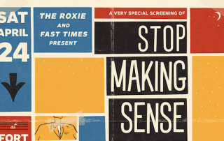 Stop Making Sense With Andrew St. James