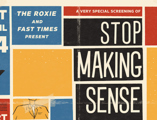 Live Event Alert!! 'Stop Making Sense' with Andrew St. James